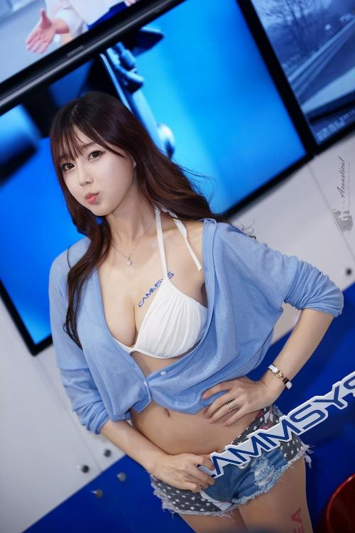 この巨乳韓国キャンギャル見たことある! チェ・スルギ(Choi Seul Ki)お○ぱいグラビア画像