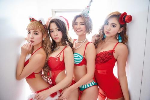 サイバージャパンダンサーズ サンタコスプレ 05