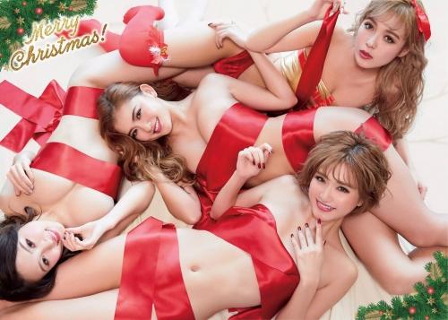 サイバージャパンダンサーズ サンタコスプレ 09