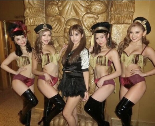 CYBER JAPAN DANCERS サイバージャパンダンサーズ HARUKA ハルカ 25