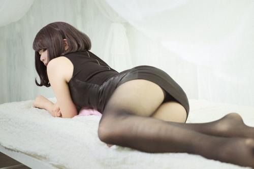 コスプレイヤー #私の太ももが性癖に刺さる人に届いてほしい 103