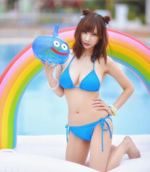 クラビアアイドル ビキニの水着 48