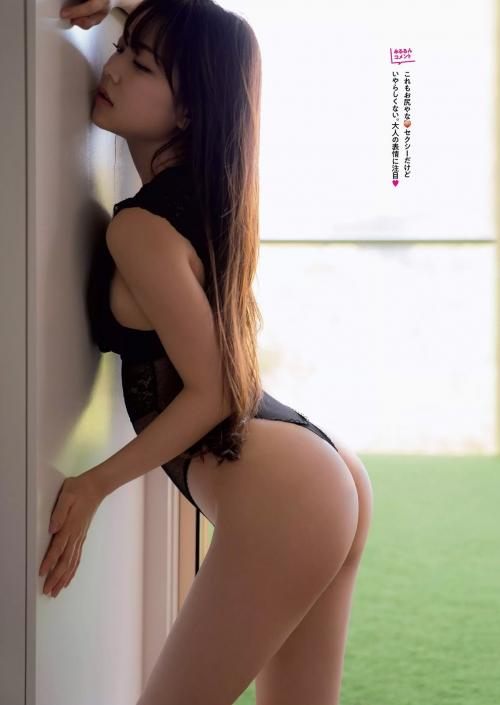 NMB48 白間美瑠 写真集『LOVE RUSH』 髪ブラ&Tバックお尻グラビア 123