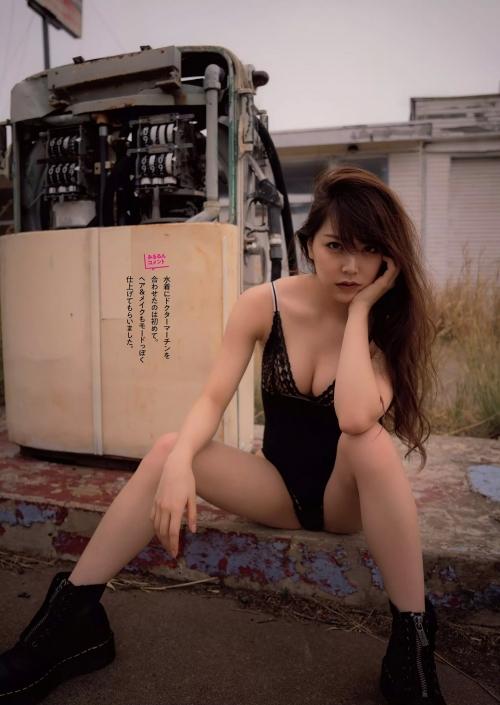 NMB48 白間美瑠 写真集『LOVE RUSH』 髪ブラ&Tバックお尻グラビア 124