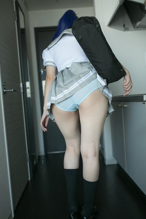 JKパンチラ スカートめくり 08
