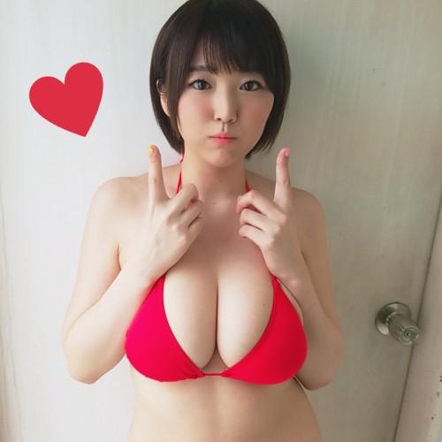 JカップAV女優 松本菜奈実の挑発してくる自撮り着衣巨乳がエロくて仕方ない 画像100枚