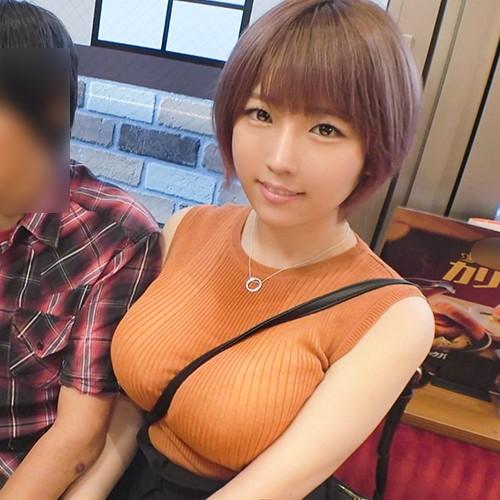 【中出し速報】Jカップ爆乳ショートカット美女にコッソリ中出し決めたったw NTR.net case11 みずき 23歳 美容師 348NTR-011 松本菜奈実