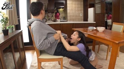 妻との妊活のために1ヶ月頑張って溜めたのに… EDの夫が役に立たないからと乳首が浮き立つノーブラ爆乳で僕の精子を横取りする妻の姉 永井マリア 128
