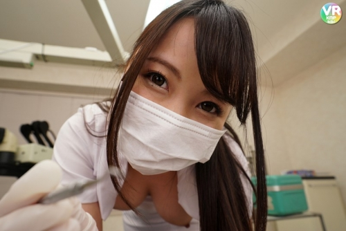 【VR】「おっぱい丸出し」で診療してくれるという「歯医者」が存在するとの情報を聞きつけ突撃取材!!玉木くるみ 116