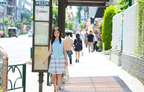 AV女優 小川桃果 Fカップ  女教師コスプレヌード 01