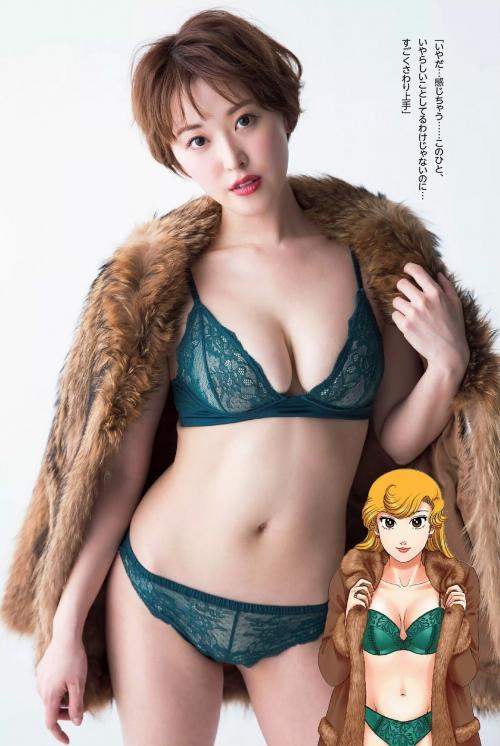 忍野さら × 若宮弓香 甘い生活コラボグラビア 02