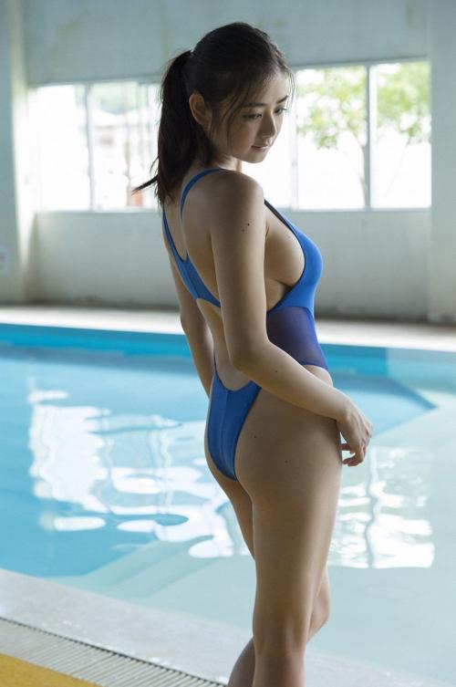 競泳水着 お尻 21
