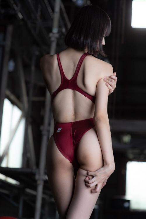 競泳水着 お尻 12