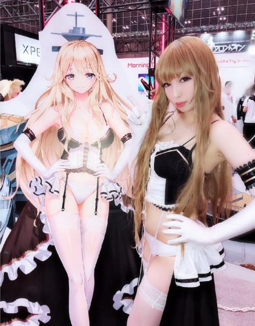 東京ゲームショウ TGS2018 コスプレイヤー