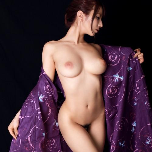 浴衣が乱れて香る、艶女の色気 着エロス画像100枚