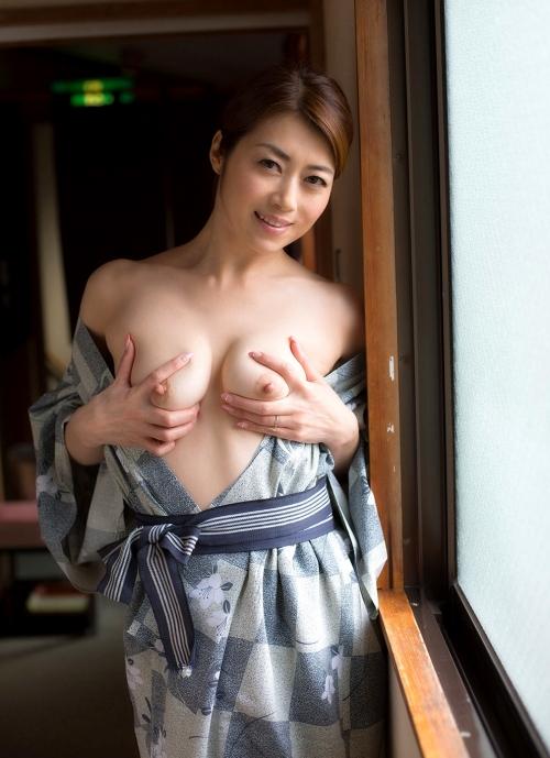 AV女優 北条麻妃 浴衣 72
