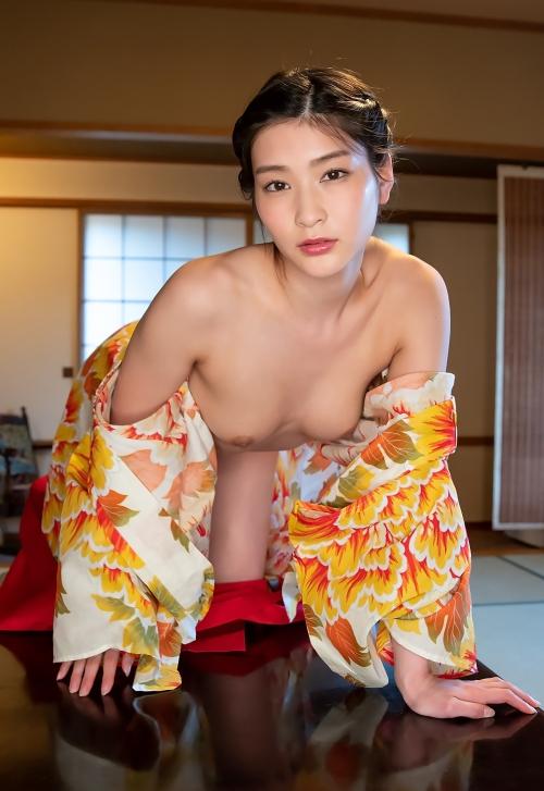 AV女優 本庄鈴 浴衣 141