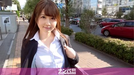 【ナンパTV】マジ軟派、初撮。 962 ゆな 23歳 人材派遣会社の営業 1