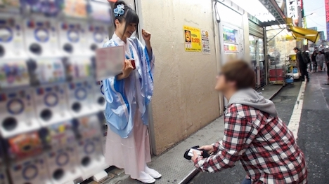 【ナンパTV】コスプレカフェナンパ 36 楓 22歳 女子大生(竜宮城カフェアルバイト) 2