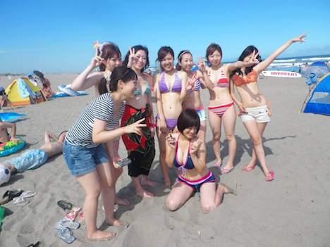 女8人で裸たこ焼きパーティ 72