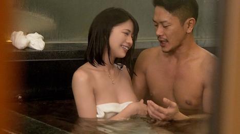 【黒船】【NTR温泉】僕にはもったいないくらい可愛いくて美肌な彼女が見ず知らずの男とHをしたらどんな表情をしてヤルのか見てみたい さや(20) 6