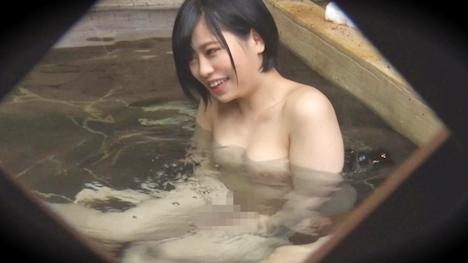 【タオル一枚 男湯入ってみませんか?】ゆか(20) 推定Dカップ 箱根湯本温泉で見つけたお嬢さん タオル一枚 男湯入ってみませんか? 9