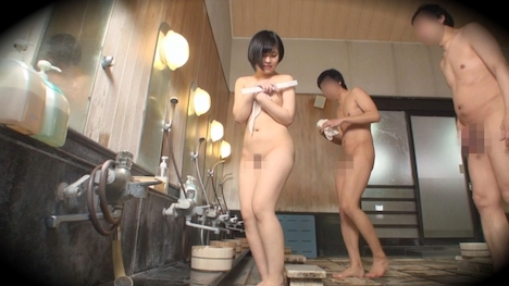 【タオル一枚 男湯入ってみませんか?】ゆか(20) 推定Dカップ 箱根湯本温泉で見つけたお嬢さん タオル一枚 男湯入ってみませんか? 10