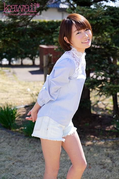 【新作】大型新人!ハニカミ笑顔が天使すぎる 朝陽そら 20歳 kawaii*専属デビュー 10
