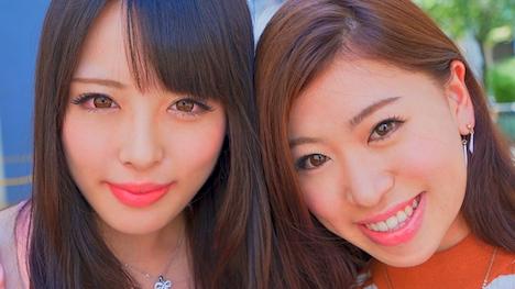 【エチケット】渋谷女子2人組が立ちバックでイキまくり乱交