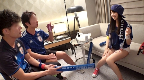 【ナンパTV】【ワールドカップ観戦ナンパ!】あやか 20歳 商学部の大学3年生 チアリーディング部 7