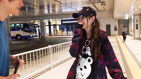 【ナンパTV】バスターミナルナンパ 16 しゅり 20歳 SMバー店員 2