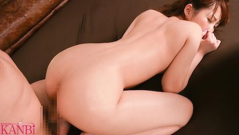 【新作】KANBi専属出演第1弾!旦那を忘れる程 汗だく汁だくで絡み合う 濃厚接吻性交3本番 織笠るみ 8