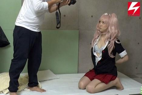コスプレイベントナンパ 作品撮りと称して自宅スタジオに連れ込み衣装を着たまま隠し撮りセックス! 香純あいか