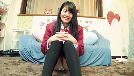 【俺の素人】かえで 女子校生 (ニーハイ女子) 2