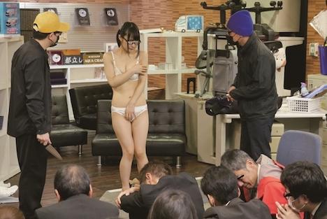 SOD女子社員ゴウカン対策訓練 大勢の同僚に絶頂ま○こを晒されて NIMO