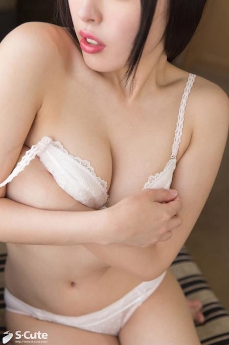 【S-CUTE】ikumi S-Cute 端正な顔立ちの黒髪美女の性事情 4