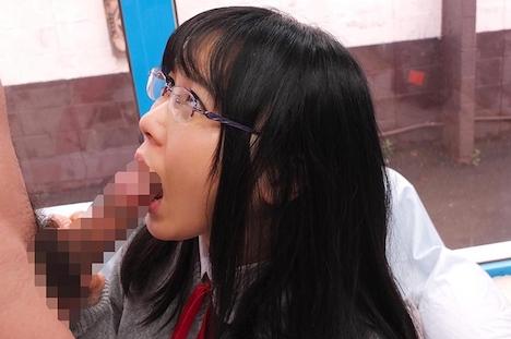【SODマジックミラー号】かな(18)女子◯生 マジックミラー号 初めてのおちんちん研究!かわいいお顔にぶっかけ! 7