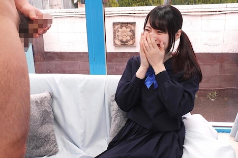 【SODマジックミラー号】えりか(18)女子◯生 マジックミラー号 初めてのおちんちん研究!かわいいお顔にぶっかけ! 6