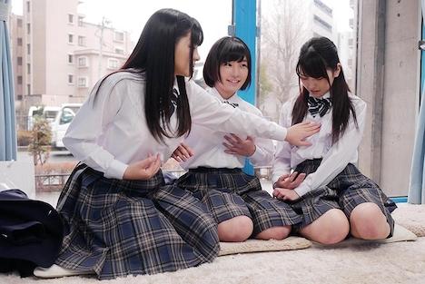 【SODマジックミラー号】みよ(18)、あいり(18)きこ(18)女子◯生 マジックミラー号 初めての6P体験! 2