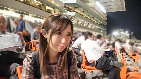 【ナンパTV】競馬場ナンパ 03 彩 21歳 理容の専門学生 ※居酒屋でバイト 4