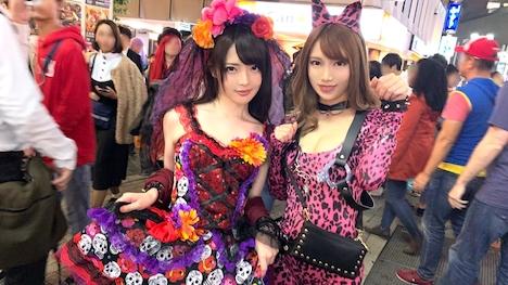 【ナンパTV】渋谷ハロウィン当日!大騒ぎ!逮捕者続出のさなか、仮装ナンパ師突入! 4