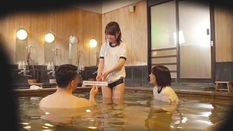 【タオル一枚 男湯入ってみませんか?】じゅり・みゆ 箱根温泉で見つけた修学旅行中の学生さん 友達と一緒に男湯入ってみませんか? 6