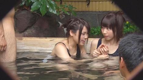 【タオル一枚 男湯入ってみませんか?】さくら・ももか 箱根温泉で見つけた修学旅行中の学生さん 友達と一緒に男湯入ってみませんか? 5