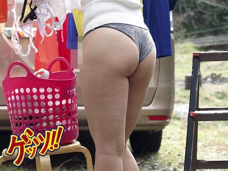 親友の奥さんがホットパンツ食い込みエロ尻で誘惑してきたので… 川口葉純