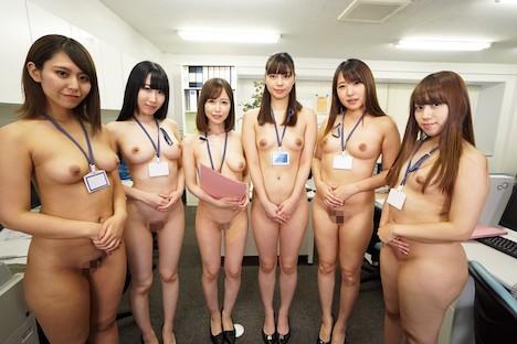 【VR】全裸オフィス 裸の女子社員に囲まれて…