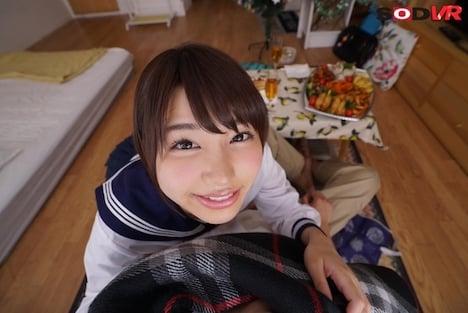 【VR】『恋人は18才』唯井まひろ クリスマスパーティーで連続7発射! 3