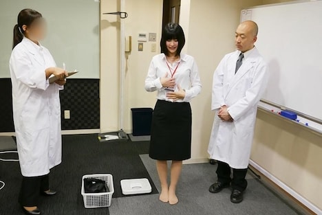 【SOD女子社員】健康診断 営業部 川合美緒 2
