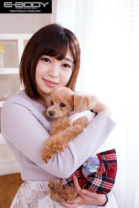 【新作】プニプニ柔らか天然Hカップ犬好き優しい飼育員りかちゃんの発情期AVデビュー 双葉りか 5
