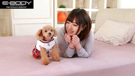 【新作】プニプニ柔らか天然Hカップ犬好き優しい飼育員りかちゃんの発情期AVデビュー 双葉りか 11