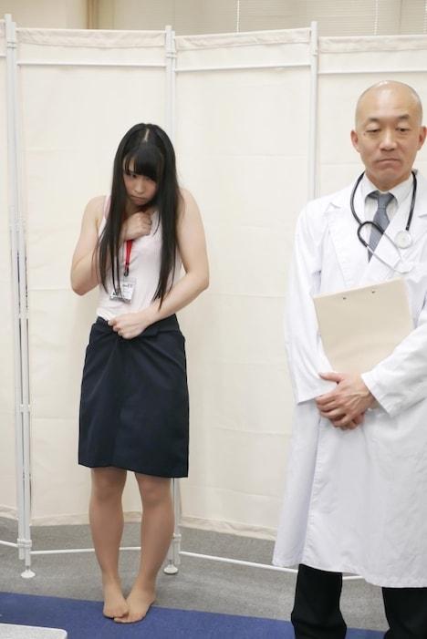 【SOD女子社員】健康診断 営業部 清水彩 2